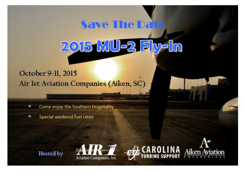 Save the Date MU-2 fly in2